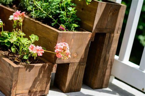 ana white herb garden planter 2 diy projects ana white cedar tiered garden planter featuring decor