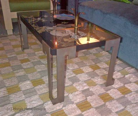 Custom Metal Coffee Tables Coffee Tables Morgik