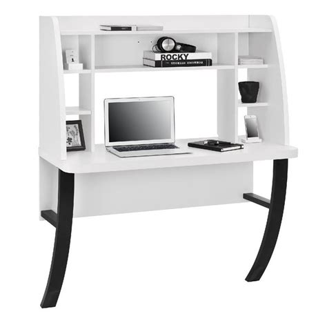 Wall Mounted Desk In White 9865096pcom White Wall Mounted Desk