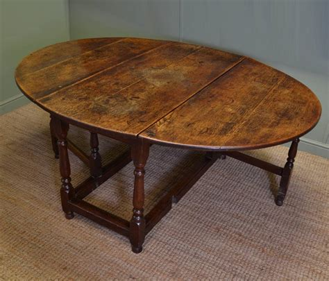 drop leaf table legs large eighteenth century country oak antique drop leaf