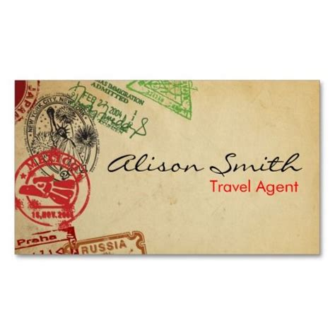 travels visiting card templates 196 best images about business cards on