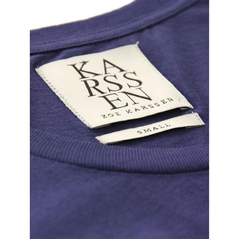 Awc Korea 1 Tshirt zoe karssen s 008 t shirt blue ribbon