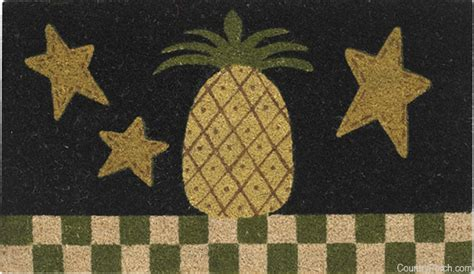 Pineapple Kitchen Rug Pineapple Doormat