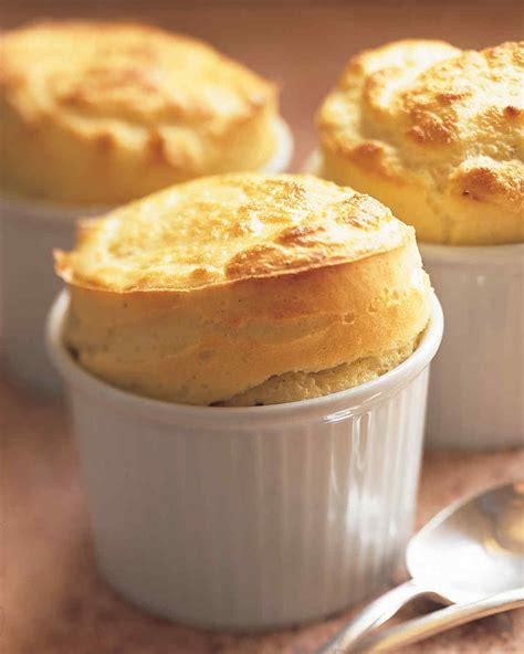 cheddar souffle goat cheese souffles