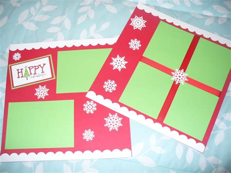 christmas html layout how to make a scrapbook celebration all about