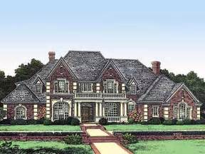 european style house plans 4166 square foot home 2