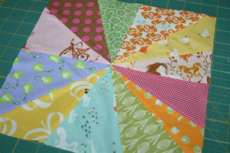 Starburst Quilt Block by Fitf A Tutorial The Starburst Block In The