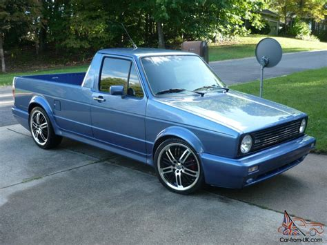 1982 Vw Rabbit Pickup
