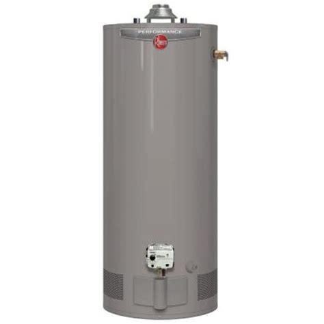 rheem performance 40 gal 6 year 36 000 btu