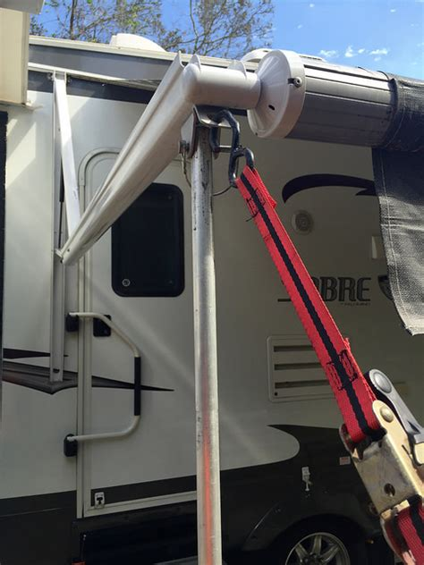 rv awning supports power awnings are nice but they re weaklings learn to rv
