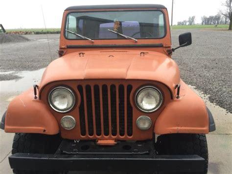 1977 jeep cj7 quadra trac