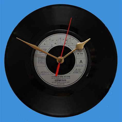turn it on again genesis genesis turn it on again vinyl clocks