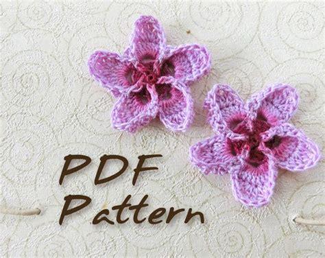 crochet pattern hawaiian flowers crochet pattern hawaiian plumeria flower wedding crochet