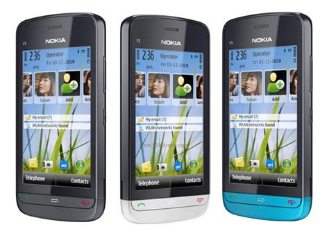 Hp Nokia C 6 nokia c5 03 pictures official photos