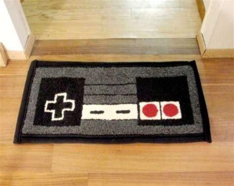 nintendo controller rug gaming picmia