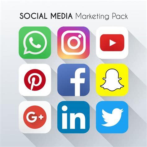 imagenes animadas para redes sociales 9 iconos de redes sociales descargar vectores gratis
