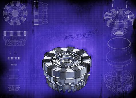 arc reactor 3d cad model grabcad