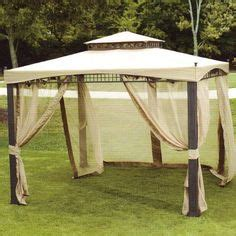 karlso gazebo replacement canopy universal 10 x 10 mosquito netting set garden
