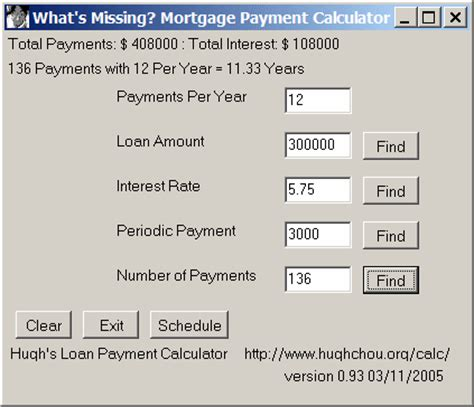 house payment calculator what s missing mortgage payment calculator the portable