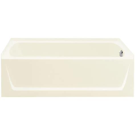 sterling bathtub sterling 71121120 96 biscuit ensemble 60 quot x 32 1 8