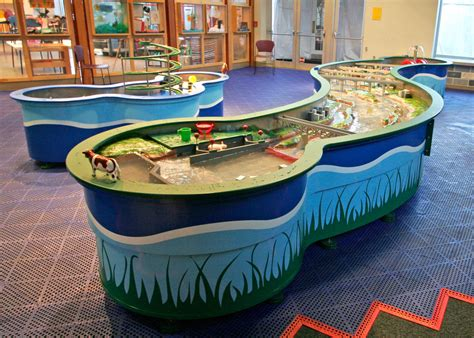 river water play display