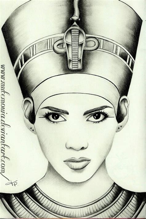 queen face tattoo queen nefertiti by mutemouia on deviantart