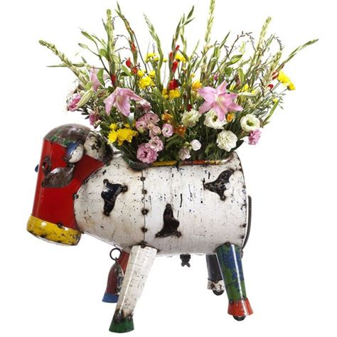 Cow Planters by Clarence The Cow Planter