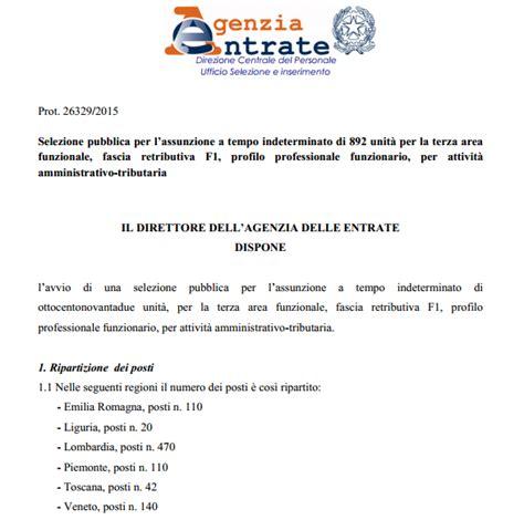 concorso ufficio delle entrate una buona notizia concorso all agenzia entrate 892 posti