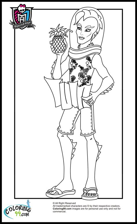 monster high boys coloring pages minister coloring