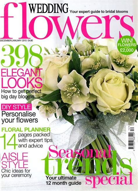flower wedding magazine chic wedding cake wedding flowers magazine