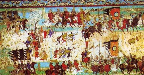 the cacouna caves and the mural books mongols china and the silk road quot lost and found