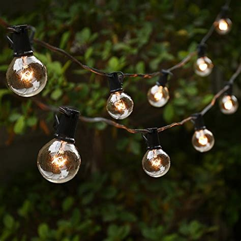 patio string lights white cord landscaping gardening and outdoor lighting products and