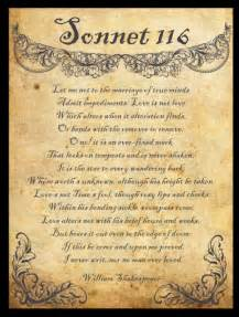 poetry poes 237 a william shakespeare sonnet cxvi