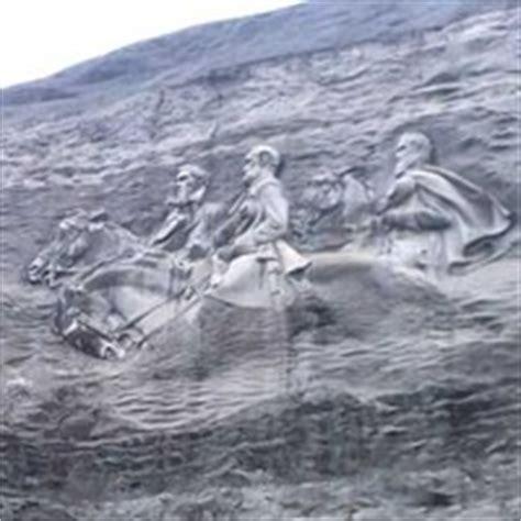 stone mountain, ga stone mountain: confederate mount