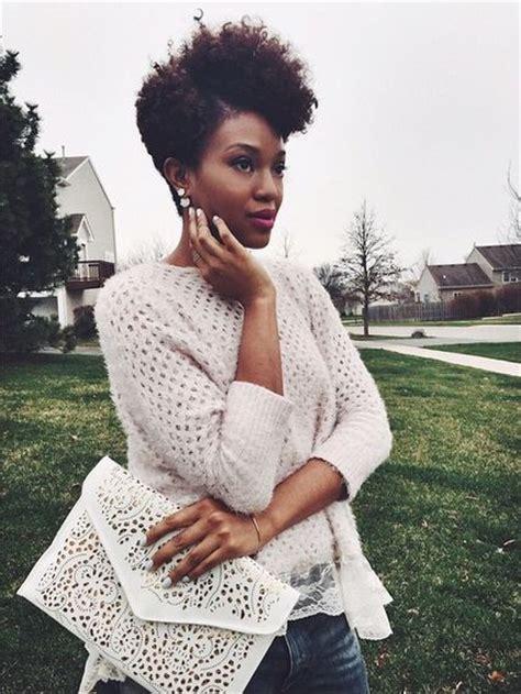 fabulous natural short hairstyles  black women ecstasycoffee