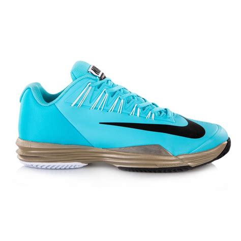 nike tennis shoes nike lunar ballistec s tennis shoe blue zinc black