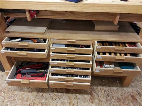 tool drawers tool drawers wooden tool boxes diy workbench