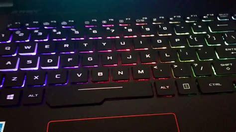 Asus Rog Laptop Backlight Not Working asus rog gl553vd amazing rgb backlit keyboard