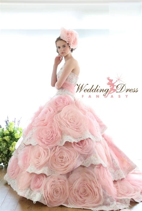 Pink Wedding Dress by Pink Wedding Dresses