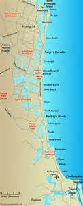 gold coast map australia
