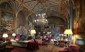 Victorian Interiors eastnor the gothic drawing room eastnor castle herefordshire