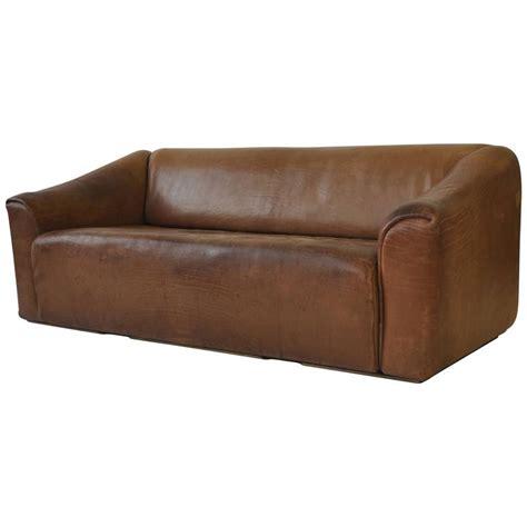 desede sofa de sede quot ds 47 quot leather sofa at 1stdibs