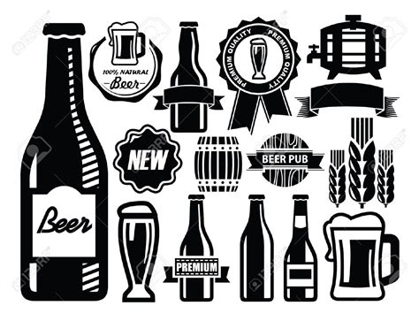 beer vector beer bottle clipart vector clipground