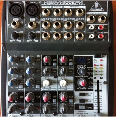 Mixer Behringer Xenyx 1002fx behringer xenyx 1002fx image 503903 audiofanzine