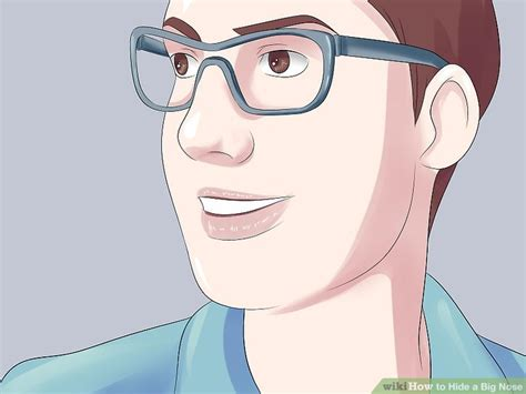 style wide nose 4 ways to hide a big nose wikihow