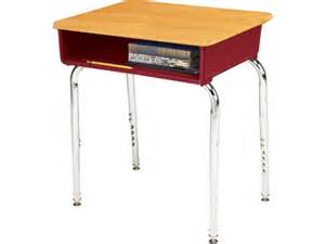 ee2 adjustable height open front school desk woodstone