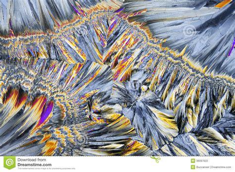 polarized light stock photos polarized light stock microscopic view of sucrose crystals in polarized light