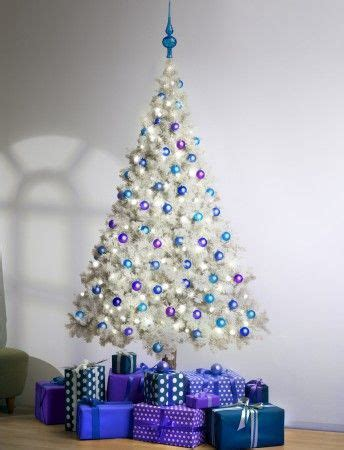 white christmas tree with purple lights 17 best ideas about 8ft tree on trees tree