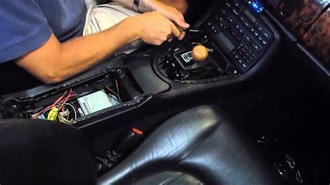 jaguar xk center console removal youtube