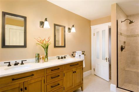 Rugs In Kitchens Cream Colored Bathroom Traditional Bathroom Boston